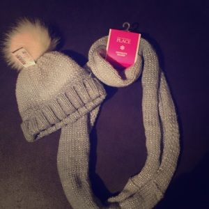 NWT Children's Place Hat & Matching Scarf🧣